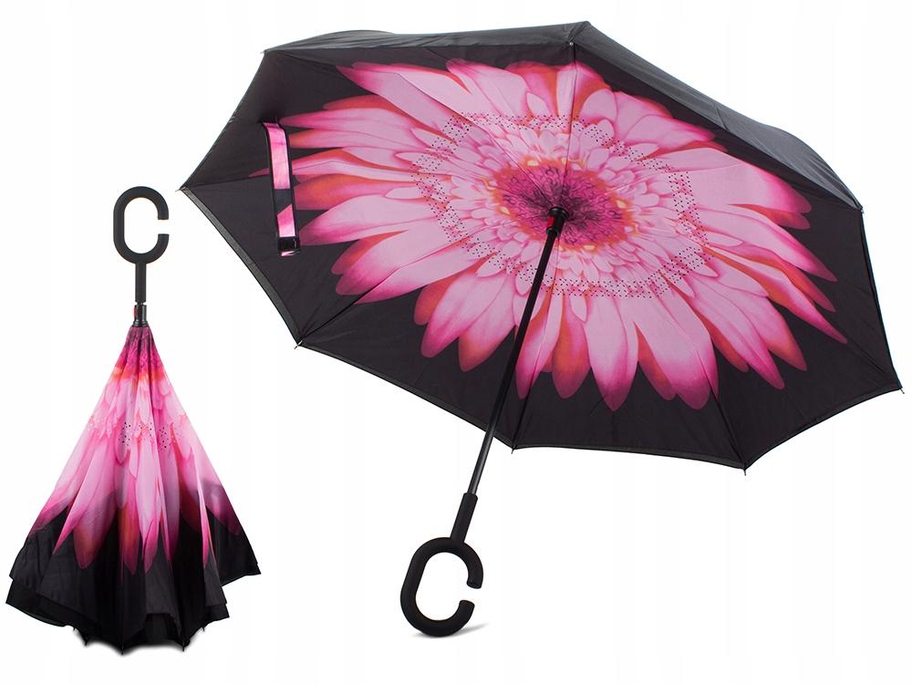 Зонтик, который складывается наоборот