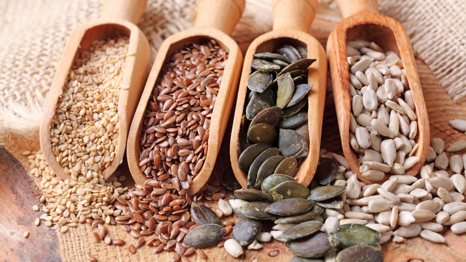 семена и зерна