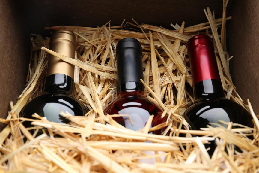 ящик с вином