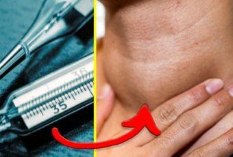Старинный способ проверки щитовидки при помощи градусника