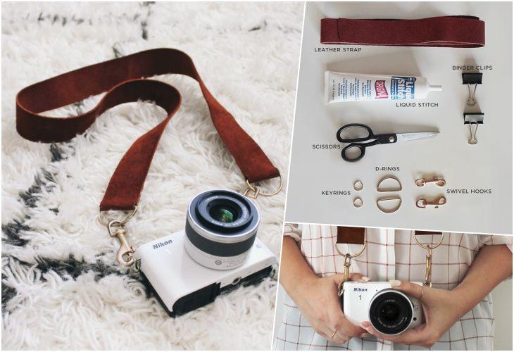 Стильный ремешок для фотоаппарата