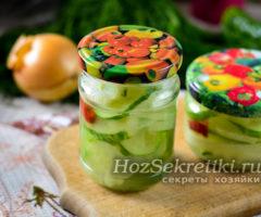 Салат из огурцов на зиму — пальчики оближешь