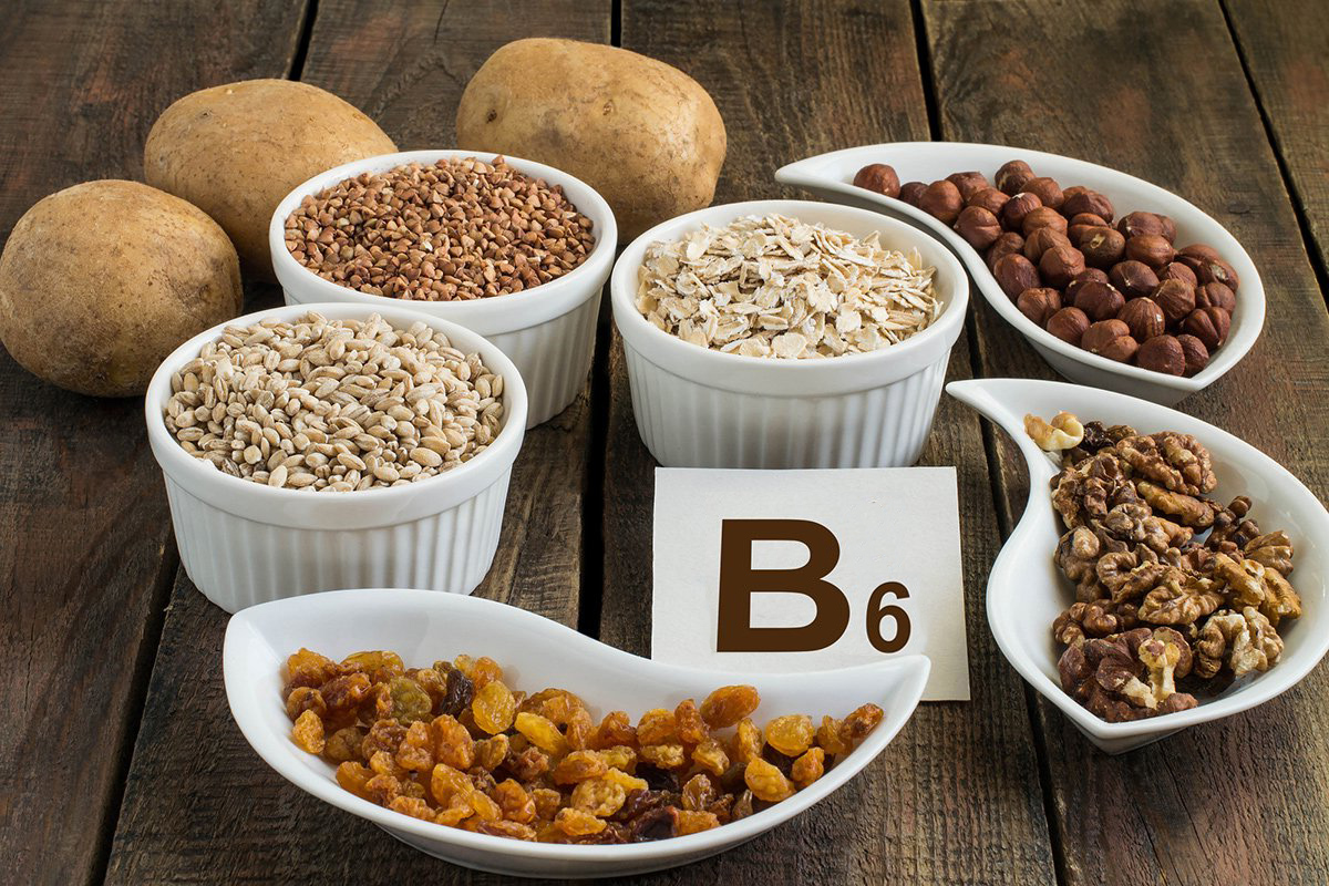 Витамины Е, В3, В5, В6