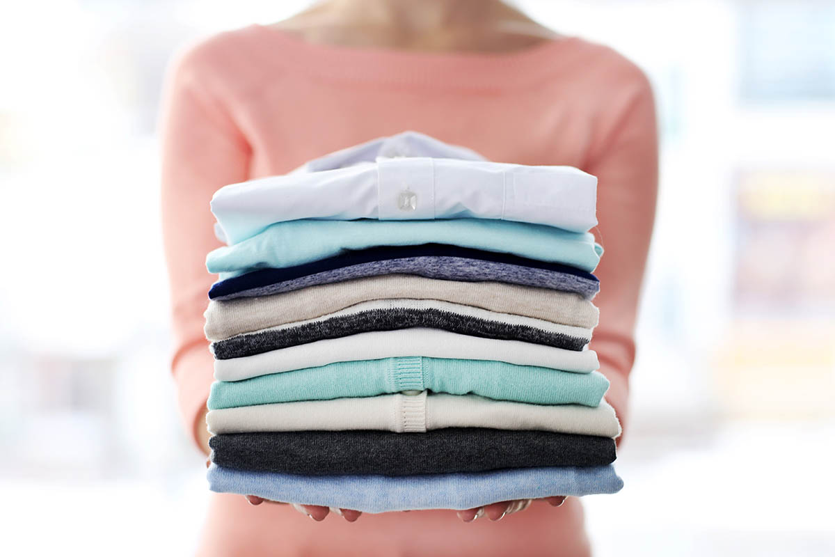 Спрячьте всю летнюю одежду