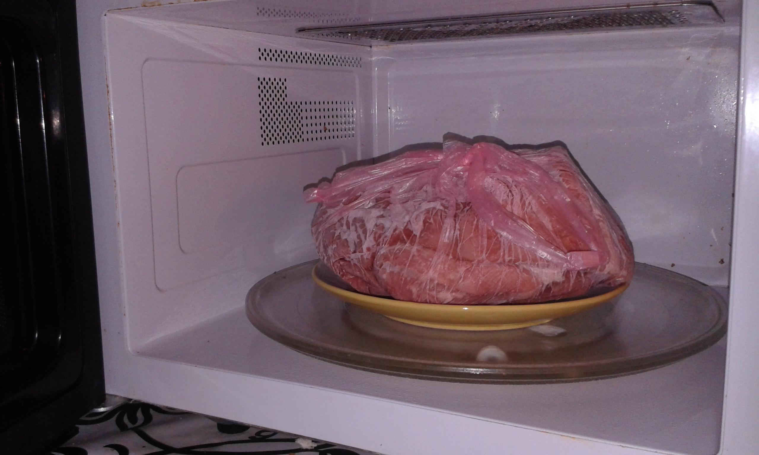 Мясо из морозилки