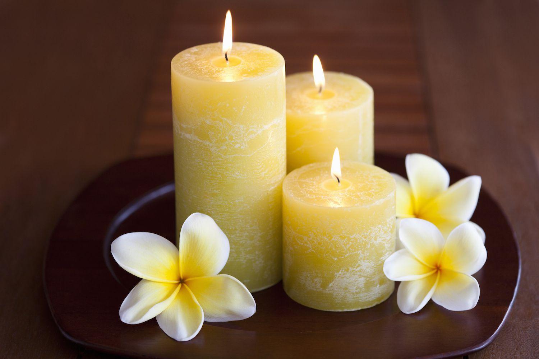 Воспользуйтесь ароматными свечами
