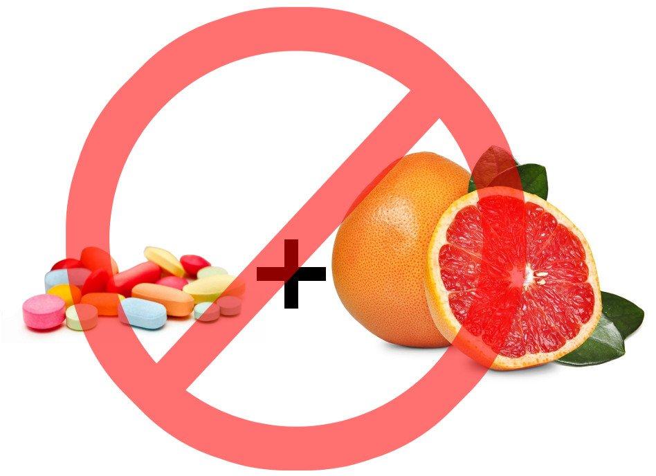 грейпфрут нельзя