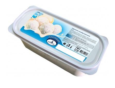 Мороженое в небольшом контейнере