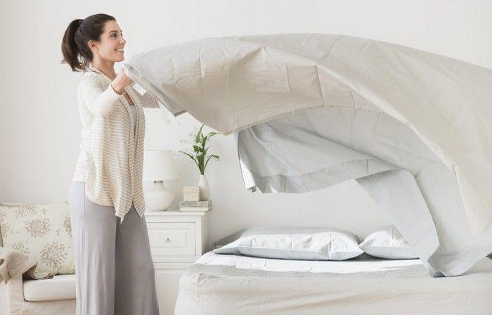 Заправляйте кровать