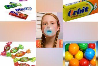 Опасность жевательной резинки для взрослых и детей