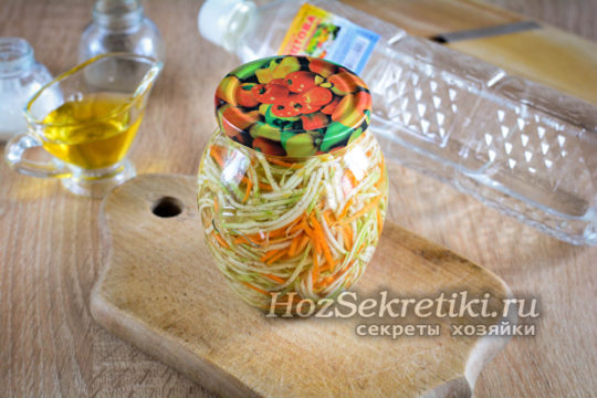 самые вкусные кабачки по-корейски на зиму