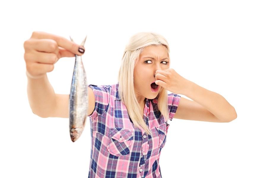 рыбный запах