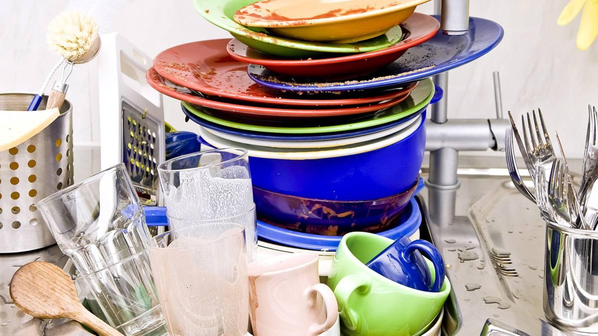 Не собирайте грязную посуду
