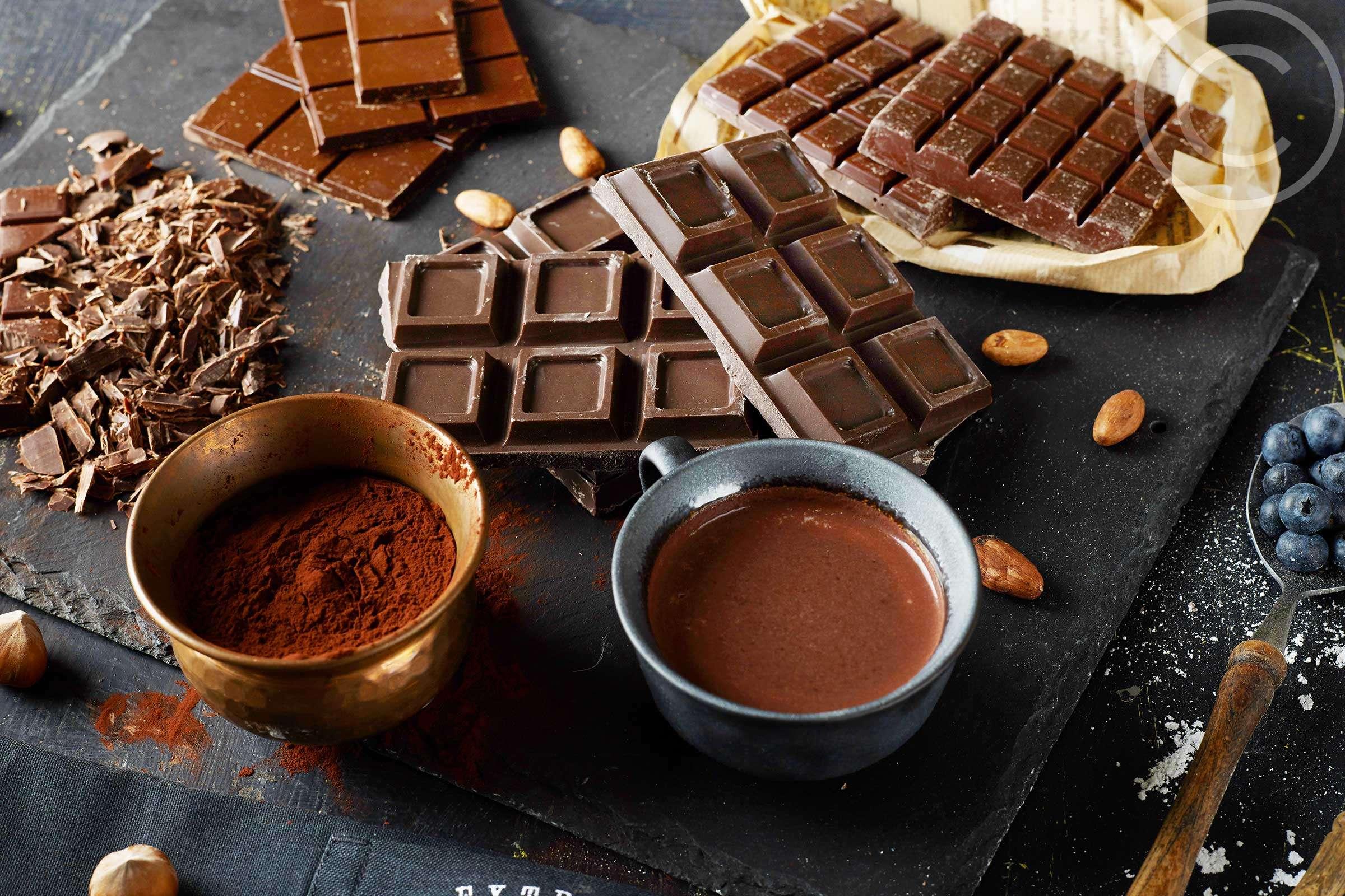 Черный шоколад или какао