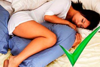 6 причин, почему вам нужно спать с подушкой между ног