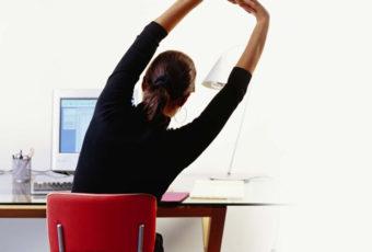 Быстрые и важные упражнения для тех, у кого сидячая работа