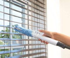 Как очистить жалюзи от жира, пыли и грязи, не снимая