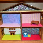 домики для кукол своими руками из картона