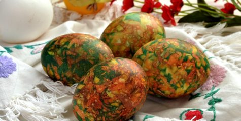 Способы окрашивания яиц с помощью луковой шелухи: рецепты и советы по окраске