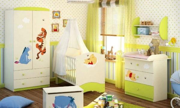Как обустроить детскую комнату для новорожденного ребенка