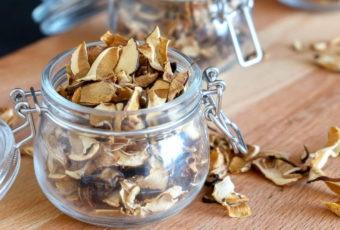 Советы по хранению высушенных грибов в домашних условиях