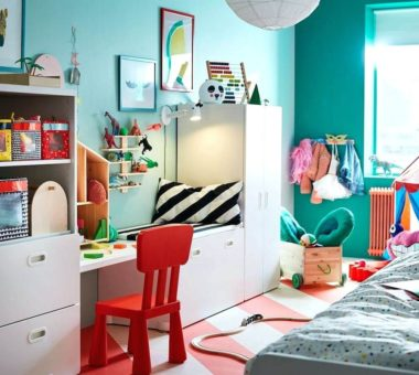 Как создать интерьер детской комнаты в стиле Икеи: полезные советы
