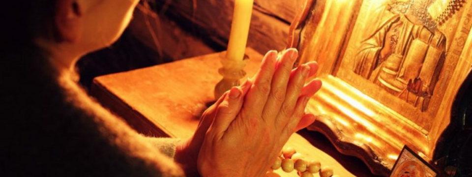 Правила чтения вечерних и утренних молитв до Вознесения