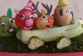 Что можно сделать из овощей и фруктов: самые интересные идеи поделок