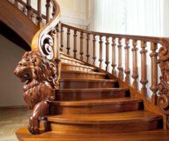 Деревянные столбы для лестниц: способы изготовления, виды и советы по их выбору