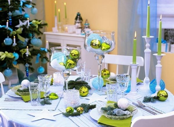 Как оформить стол на Новый год 2021 своими руками