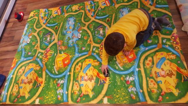 ковёр в детской