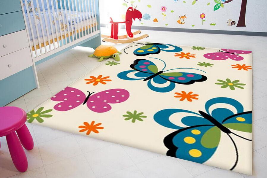 Ковры в детскую комнату: плюсы и минусы покрытия, выбор подходящего материала, определение подходящего размера.