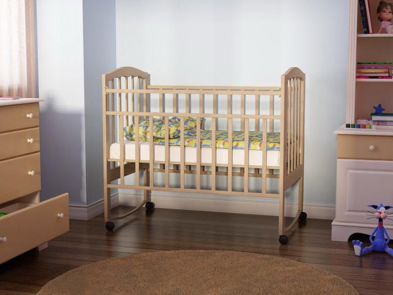 Детская кроватка: фото разных моделей, советы по выбору размера и подходящие материалы