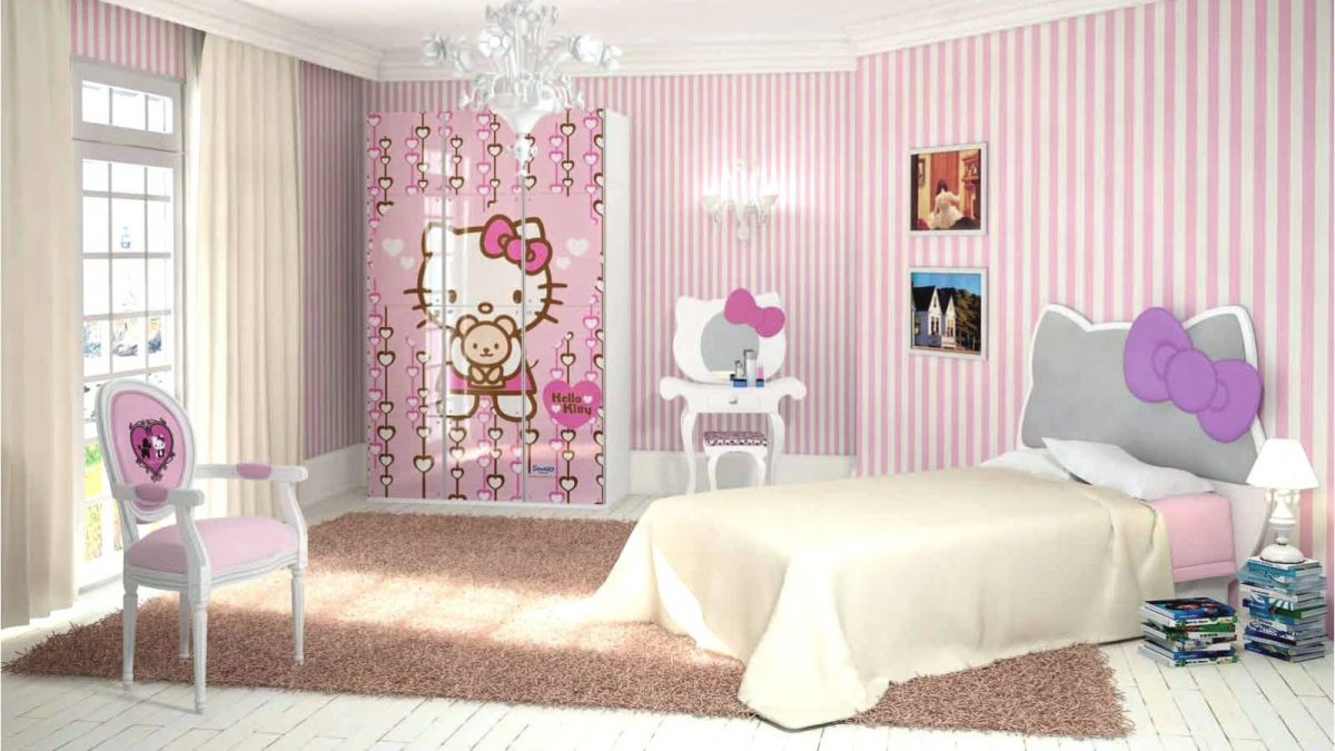Обои для девочки: особенности выбора материалов, подходящие цвета с учетом стиля интерьера, варианты комбинирования и примеры
