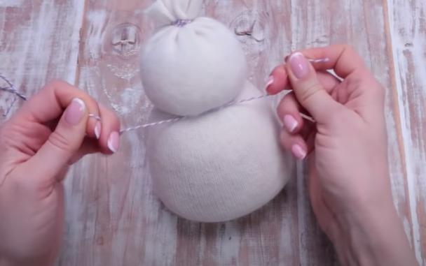 Туловище снеговика
