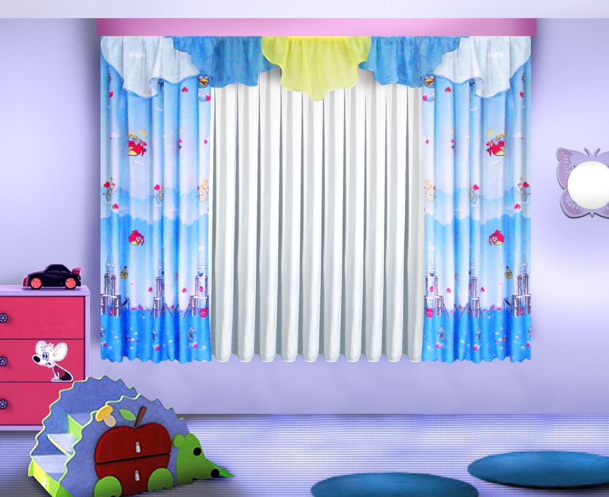 Шторы в детскую комнату своими руками: идеи оформления для мальчика и девочки и выбор материала