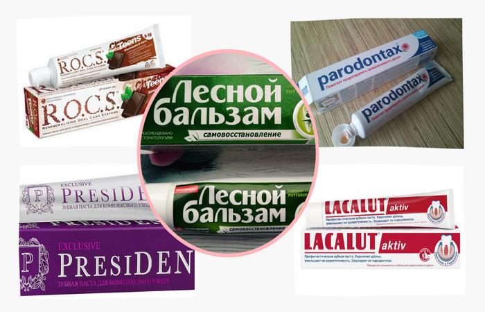 Производители зубной пасты