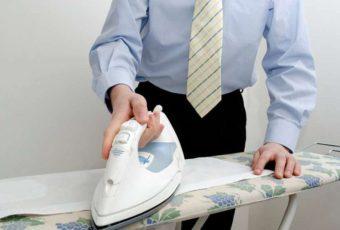 Как правильно гладить брюки из разных типов ткани