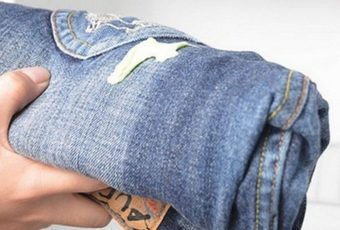 Как отстирать монтажную пену с одежды