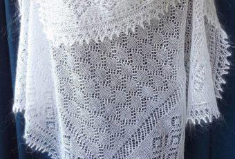Как постирать и высушить пуховый платок