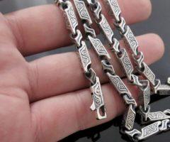Как почистить серебряную цепочку от черноты