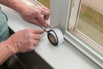 Как утеплить пластиковое окно к зиме