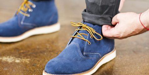 Как стирать замшевые кроссовки?