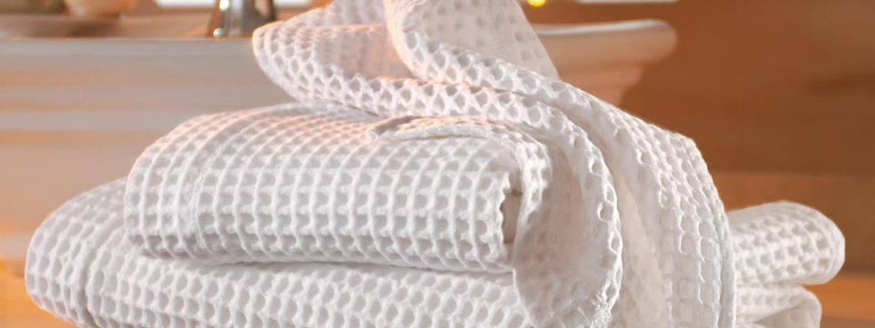 Как отбелить кухонные полотенца?