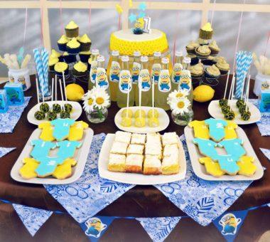 Как украсить стол на день рождения ребенка: идей, советы, фото